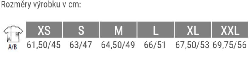 velikosti K467
